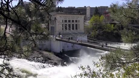 Spokane et sa rivière polluée par Monsanto (capture RT)