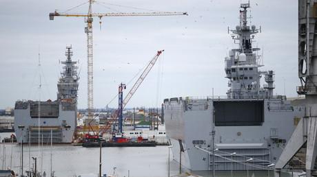 Navires Mistral à Saint-Nazaire