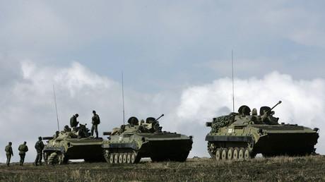 Le conflit en Ossétie du Sud en 2008 a fait environ 1500 morts.