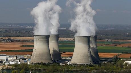 La centrale nucléaire EDF du Bugey près de Lyon