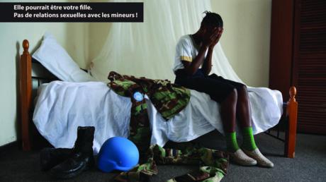 Une photo de la campagne de la MONUSCO contre les violences sexuelles en RDC.