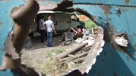 Donbass : 2 000 personnes évacuées à Donetsk par crainte de nouveaux bombardements