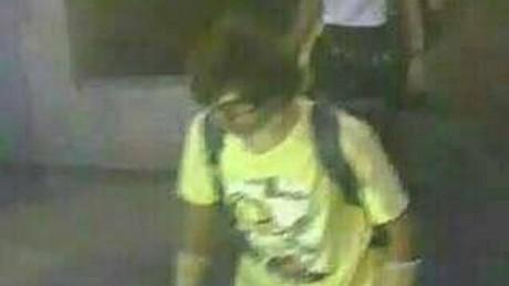 La photo du suspect de l'attentat de Bangkok.