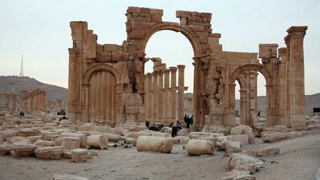 La ville antique de Palmyre est aux mains de Daesh depuis le mois de mai.