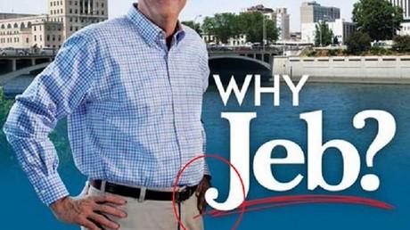 La fameuse main noire de Jeb Bush !