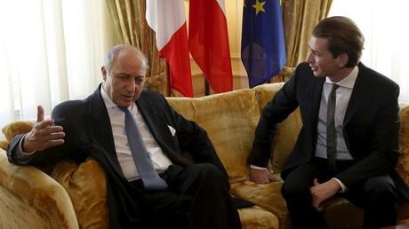 Le ministre autrichien des Affaires étrangères fête ses 29 bougies au Sommet de Vienne