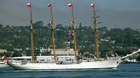Le navire de torture de Pinochet exposé à un festival naval au Royaume-Uni