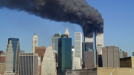L'incendie du World Trade Center