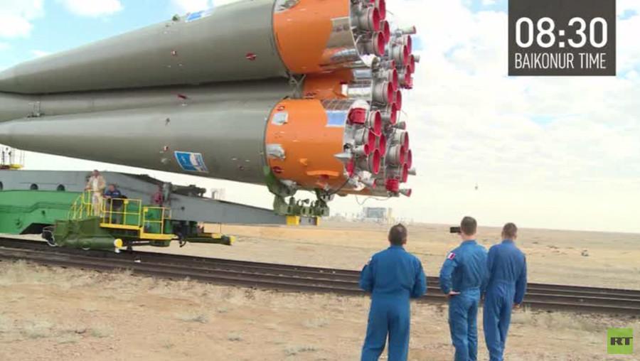 500ème vol habité : la mission spatiale événement sera lancée depuis la même rampe que Gagarine