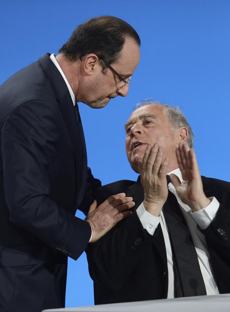 François Patriat, ancien ministre de l'Agriculture, juge sévèrement le mouvement des agriculteurs contre François Hollande et l'Europe.