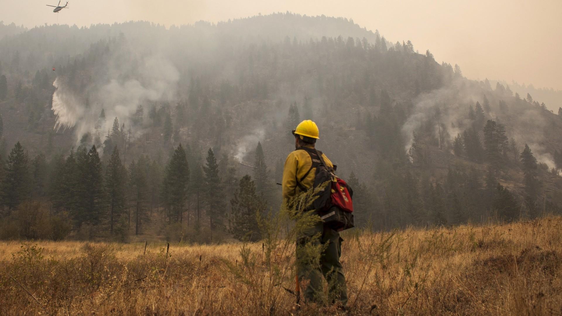 Incendie dans l'Etat de Washington