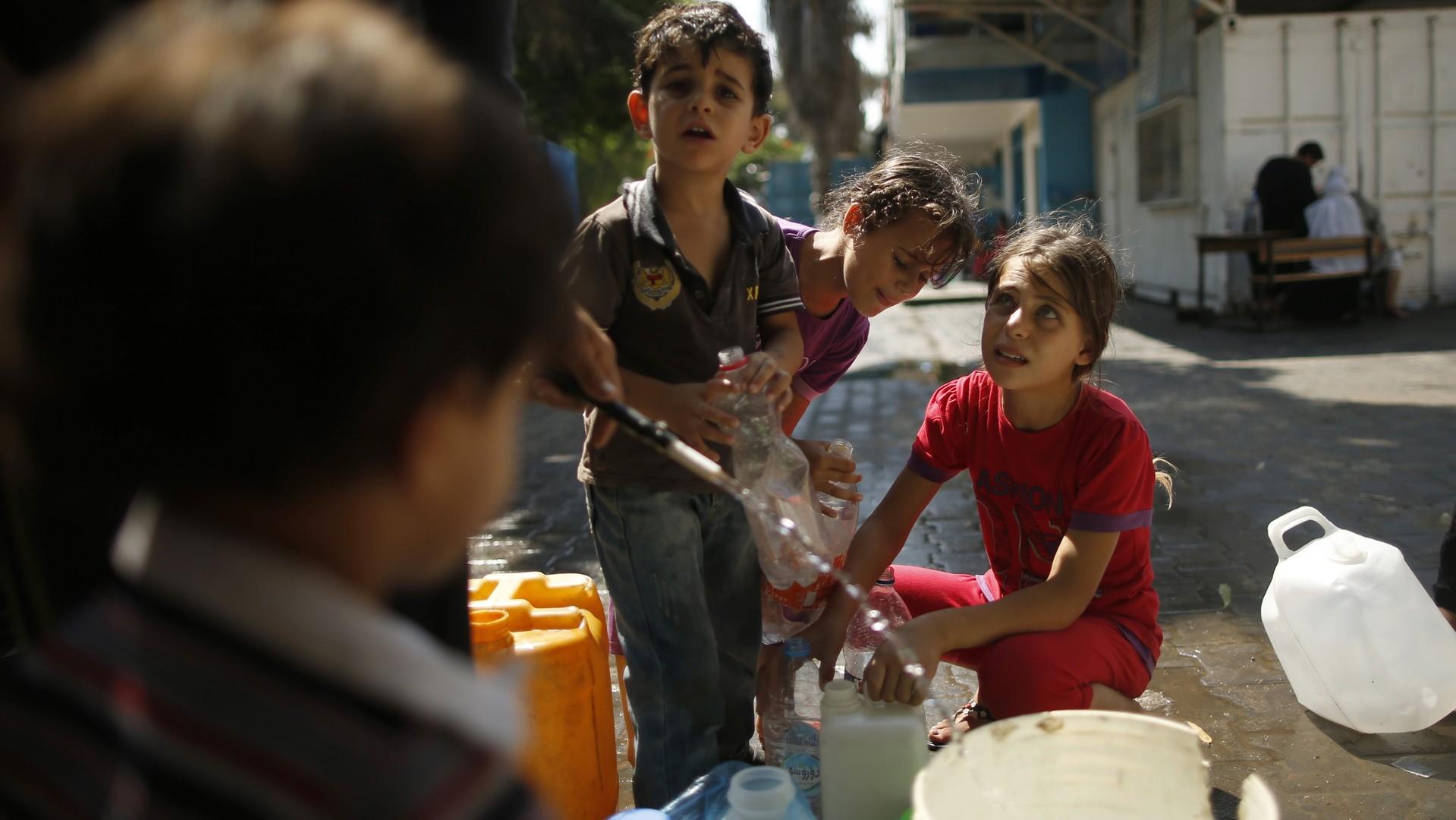 Pénurie d'eau désastreuse à Gaza: «Nous ne pouvons pas la boire, ni s'en servir pour cuire ou laver»