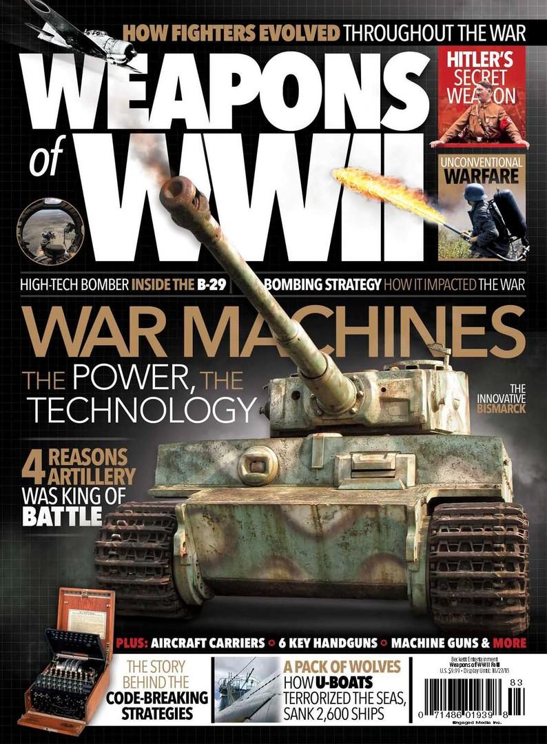 Le magazine Weapons of WWII revient sur les armes secrètes d'Hitler.