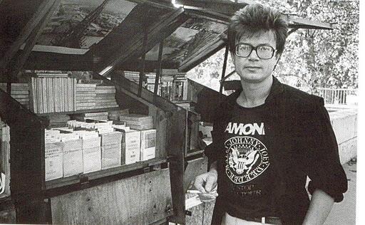 Limonov à Paris en 1980.