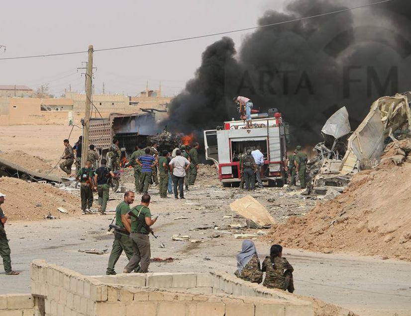Syrie : un double attentat de Daesh à Hassaké fait plus de 30 morts