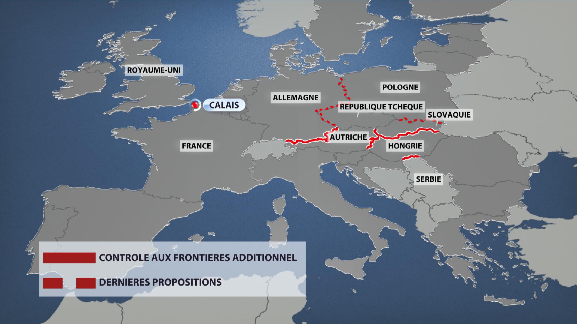 Le contrôle aux frontières européennes