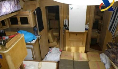 Espagne: un bateau bourré de cannabis a failli couler !