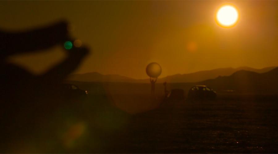 Un modèle réduit de système solaire de 11 km construit dans le désert du Nevada