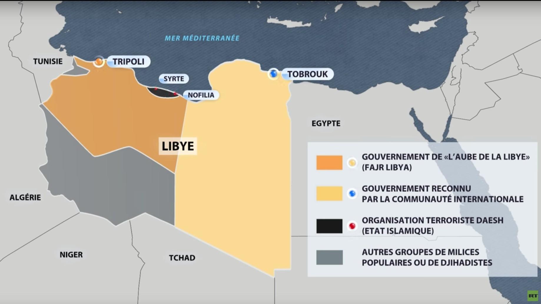 Un tanker battant pavillon russe accusé de contrebande saisi par le gouvernement libyen non reconnu