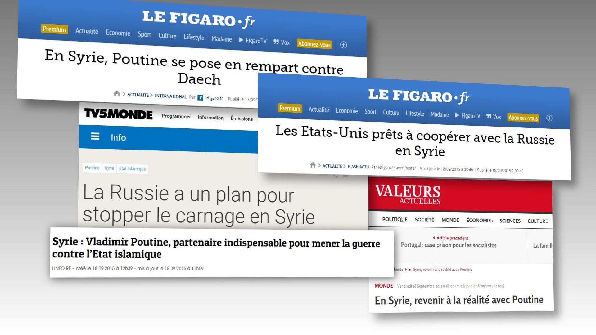 Sarkozy : pour résoudre la crise en Syrie, il faut «dialoguer davantage avec la Russie et Poutine»