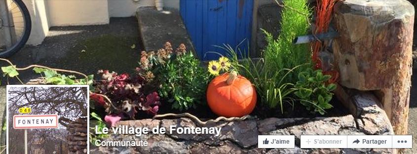 L'entrée du village de Fontenay