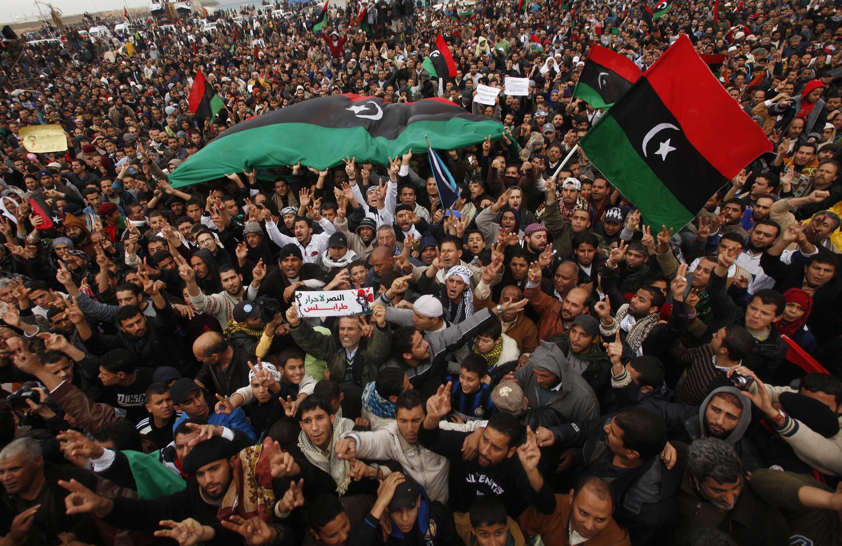 Les manifestations anti-Kadhafi ont débuté à Benghazi au mois de février 2011.