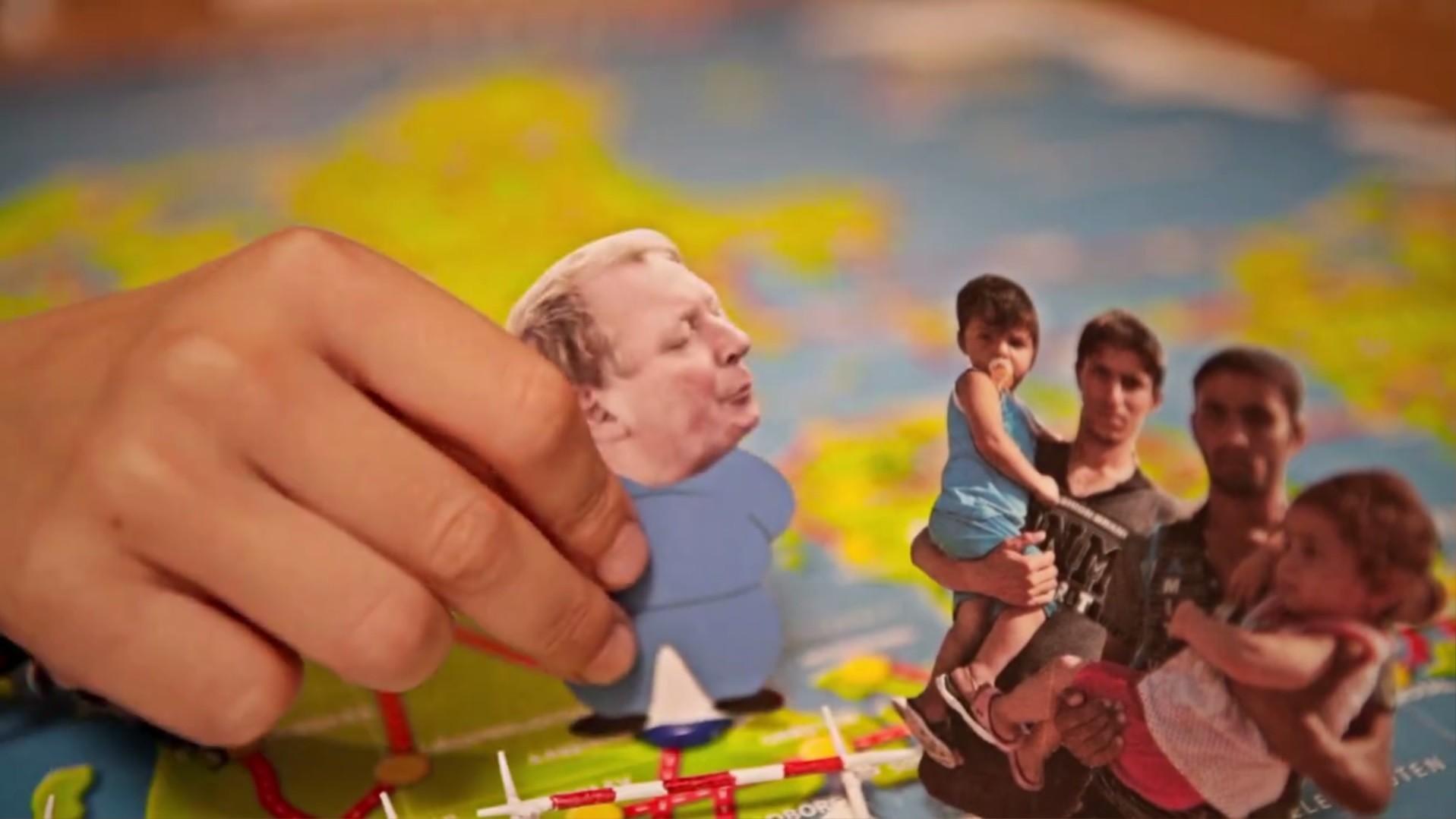 Un jeu de société danois vous invite à chasser les migrants d'Europe