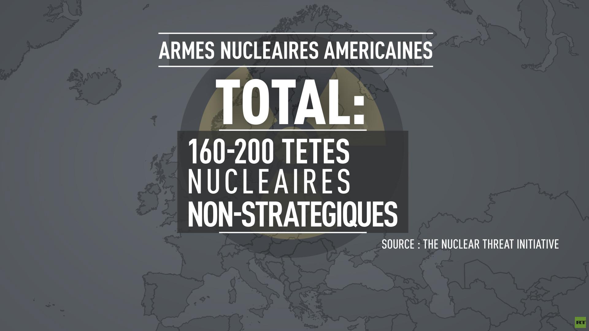 Les Etats-Unis vont installer de nouvelles armes nucléaires en Allemagne