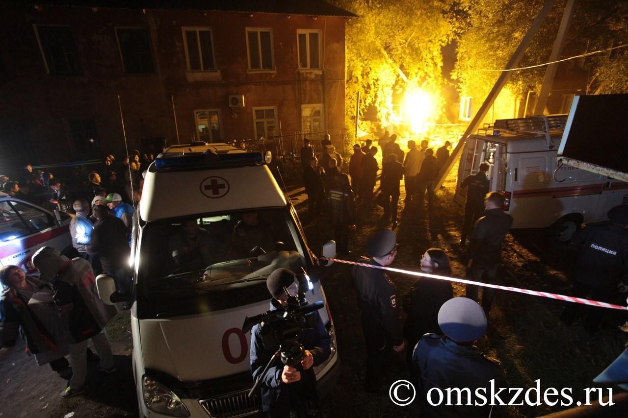 Russie : une explosion de gaz détruit un immeuble d'habitation à Omsk (PHOTO, VIDEO)