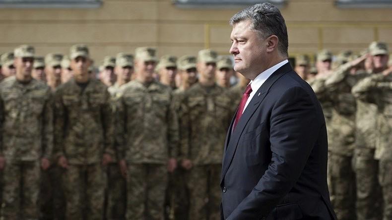Le président ukrainien, Petro Porochenko