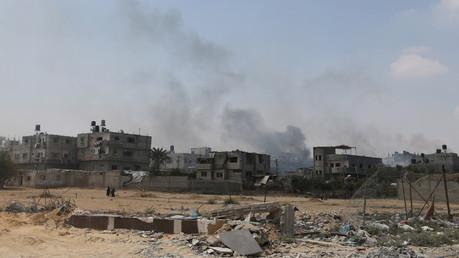 La bande de Gaza après l'explosion à Rafah