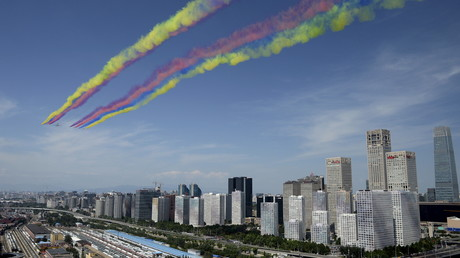 Chine : parade militaire à l'occasion du 70ème anniversaire de la fin de la Seconde guerre mondiale