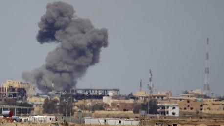Une frappe aérienne contre Daesh en Irak