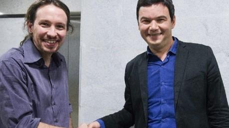 Piketty et Podemos unis contre l'austérité