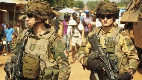 Des soldats français à Bangui