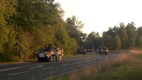 Le convoi américain «Dragoon Crossing» entame son tour d'Europe controversé (PHOTOS, VIDEOS)