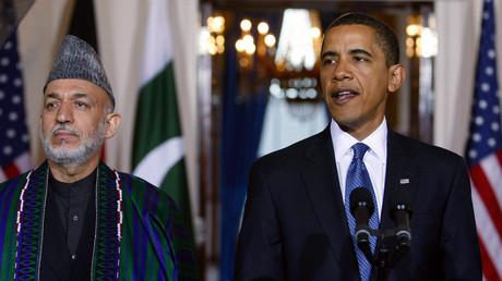 Pourtant proche des Etats-Unis pendant les 10 ans qu'il a passés à la tête de l'Afghanistan, Hamid Karzaï a mis en doute l'existence d'Al-Qaïda.