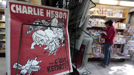 Un numéro de Charlie Hebdo