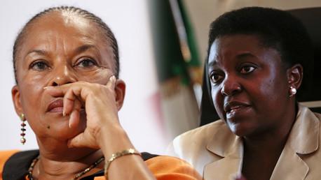 Christiane Taubira et Cécile Kyenge