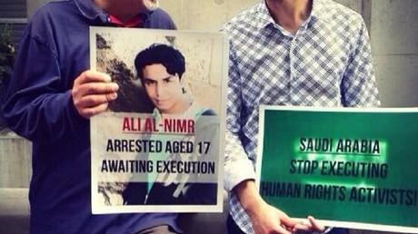 Plusieurs ONG militent pour la libération du jeune homme, et contre la peine de mort.