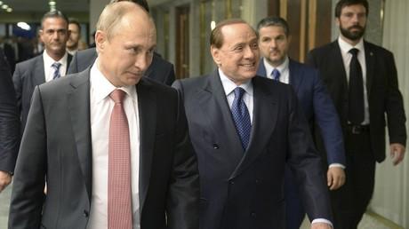 Poutine et Berlusconi poursuivis par la justice ukrainienne pour «crime d'apéritif»