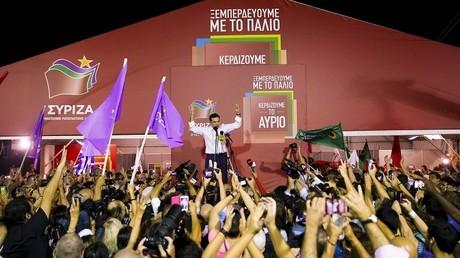 Les élections en Grèce ont vu la victoire de Syriza