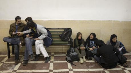 Pour la première fois depuis de longues années, des étudiants américains ont été inscrits à l'Université de Téhéran.