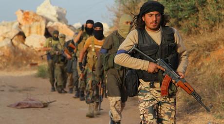 Des combattants de Jabhat al-Nosra
