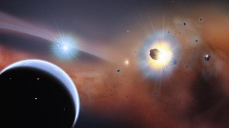 Vidéo incroyable d'une exoplanète en mouvement (VIDEO)