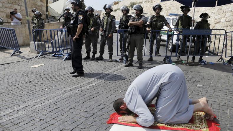 L'Esplanade des Mosquées, lieu sacré pour les Musulmans, est fermée pour deux jours aux Palestiniens.