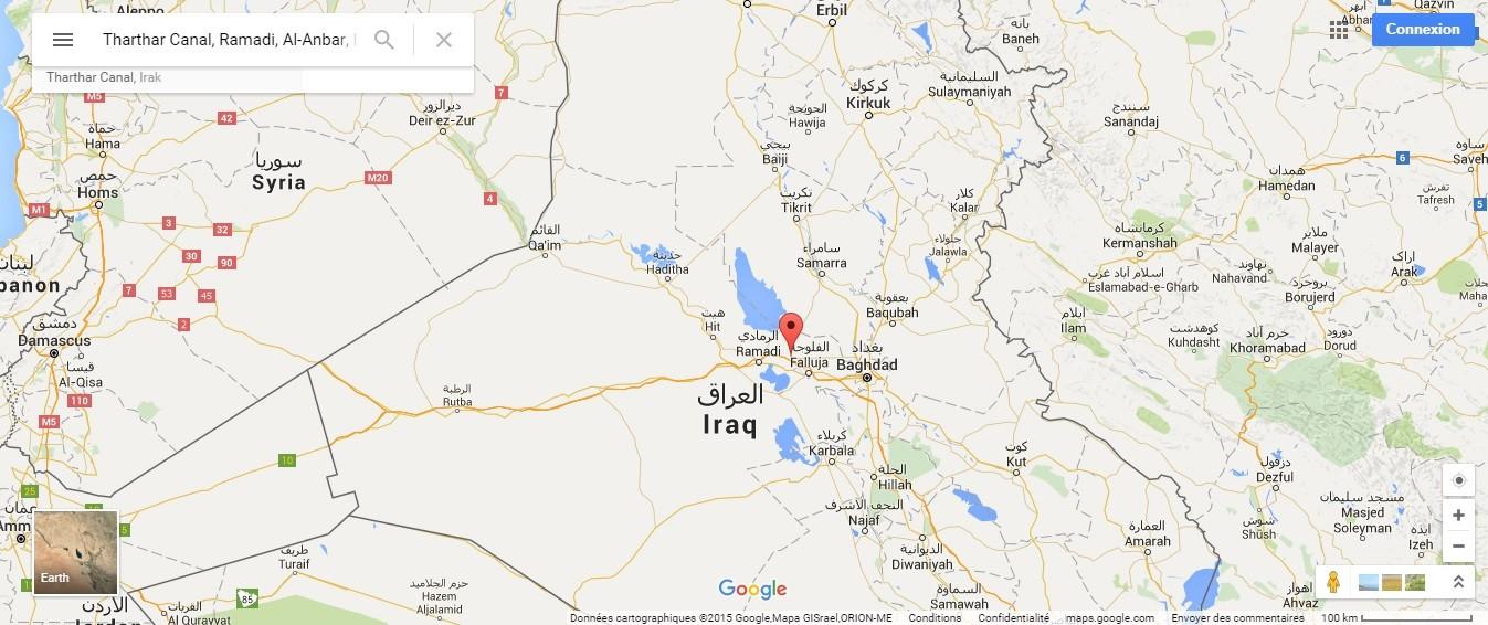 Tharthar, dans la province d'Al-Anbar