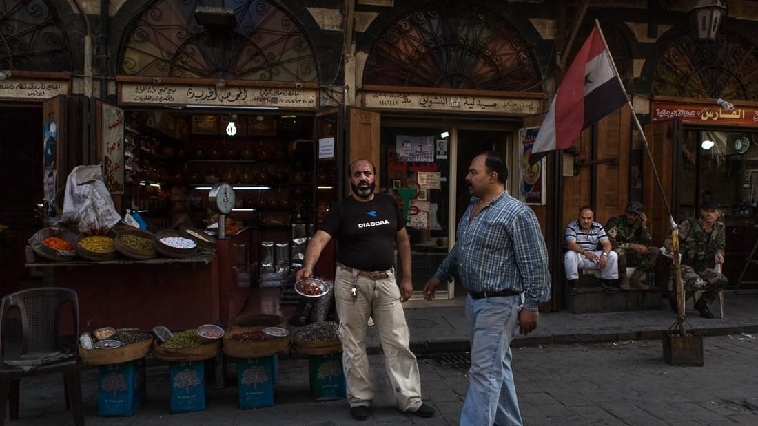 Le quotidien des citoyens de Damas durant la guerre