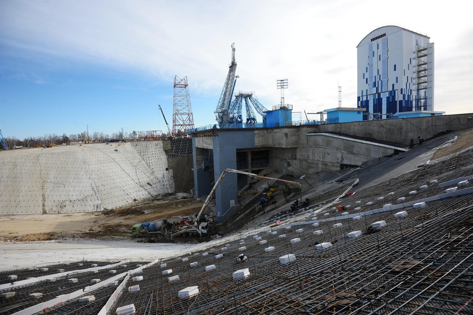 Le nouveau centre spatial russe ne rejoindra pas les étoiles avant le printemps 2016