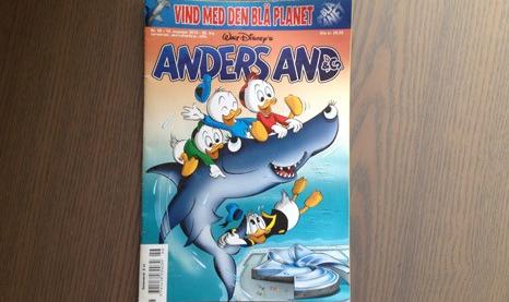 Donald Duck dans le collimateur de la justice danoise